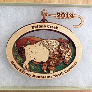 Buffalo Creek Tree Ornament