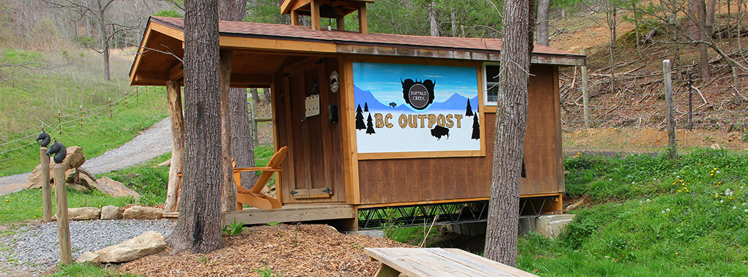 BC Outpost Buffalo Creek Vacation Rentals Great Smokey Mountains