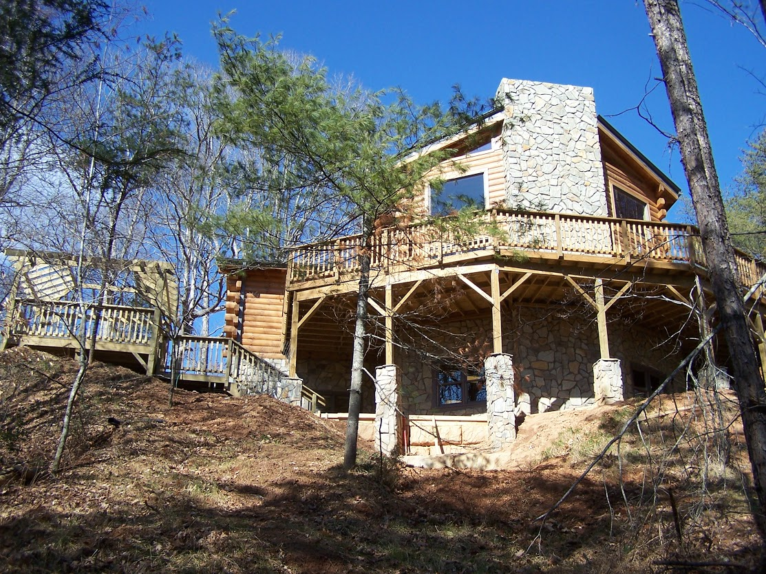 a cabin carolina house rental western for the north cabins rent watch vacation lake