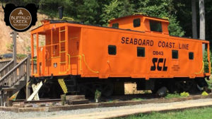 Buffalo Creek Vacation Caboose rental Seaboard Coast Line # 0843