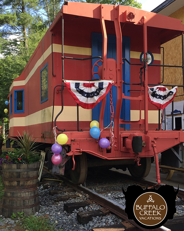 Buffalo Creek Vacations NC Caboose Rentals