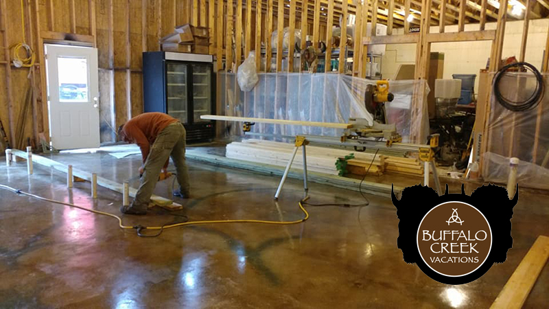 Bufflo-Creek-Vacations-Store-Build