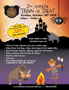 Train or Treat - Buffalo Creek Vacations